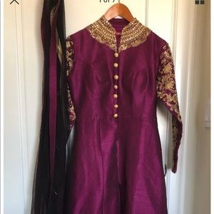 Dresses & Skirts - NWOT Anarkali Indian Pakistani Lehenga Lengha
